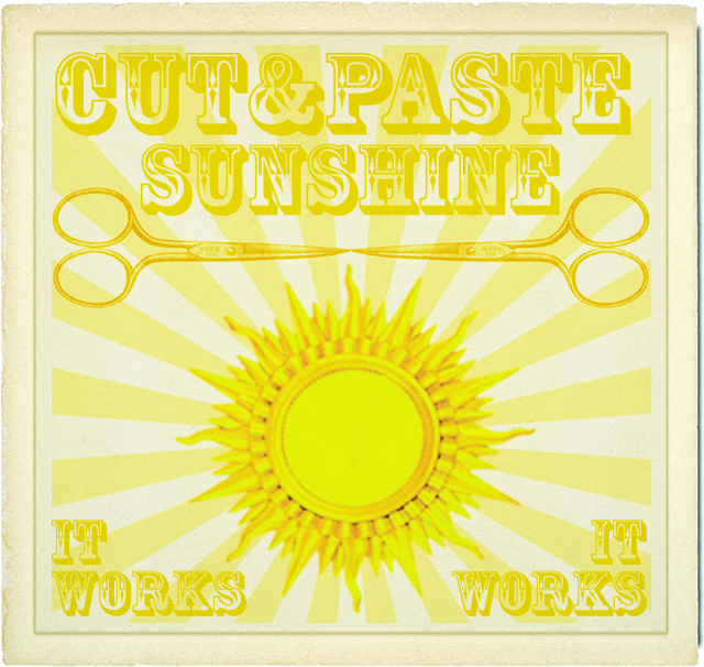 SUNSHINE CUT N PAST KIT