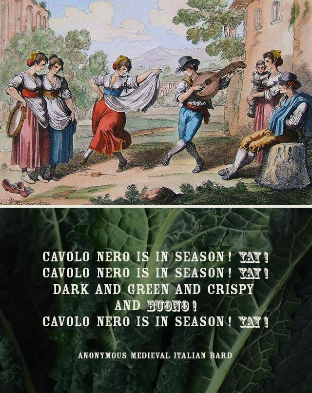 CAVOLO NERO SONG
