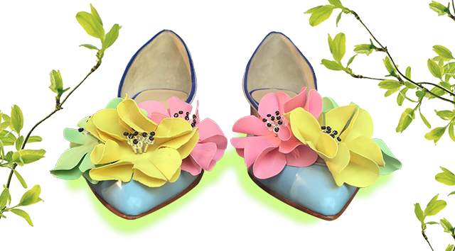 FLOWER SHOES 1